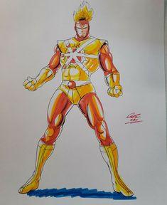 Firestorm Dc, Justice League, Dc Comics, Ronald Mcdonald, Fictional Characters, Fantasy Characters