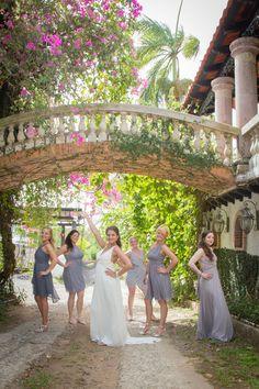Grey, Ivory and Yellow wedding. Hacienda Siesta Alegre Destination wedding Puerto Rico