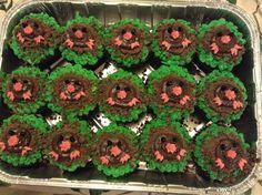 Mole day cupcakes