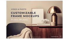 Video&Photo Frame mockups. Interior Interior Design Tips, Bathroom Interior Design, Video Mockup, Videos Photos, Aesthetic Design, Interior Architecture, Colorful Backgrounds, Frame, Mockup Templates