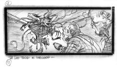 John Carpenter's The Thing Storyboard - The Dog Thing is Cornered (11)