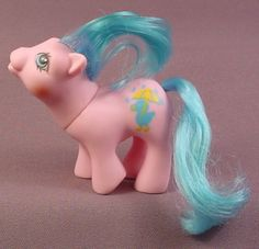 My Little Pony Baby Rainfeather, Drink 'N Wet Baby Ponies, 1989 Hasbro