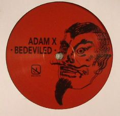 The artwork for the vinyl release of: Adam X - Bedeviled EP (Sonic Groove) #music Techno