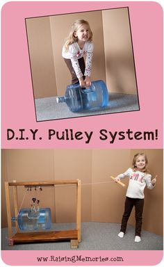 D.I.Y. Pulley Systems Science Fair Project- Build Your Own!