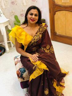 Sleeve Designs, Blouse Designs, Kurti Sleeves Design, Sari, Fashion, Saree, Moda, Fashion Styles, Fashion Illustrations