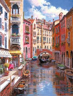 ART~ The Canals Of Venice~ Sam Sung