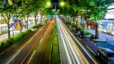 A 20 second long exposure of Omotesando in Harajuku - shot with a Fujifilm X-T2 and the 16-55mm f2.8 lens