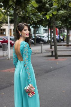 Invitada boda vestido largo atelier Estela Garro Frocks, Jumpsuit, Outfits, Formal Dresses, Womens Fashion, How To Wear, Wedding, Ideas Para, Long Slip Dress