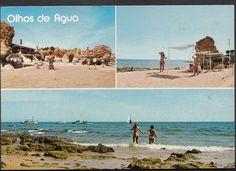 Portugal Postcard ALGARVE Praia Beach Olhos de Agua LC3140 | eBay