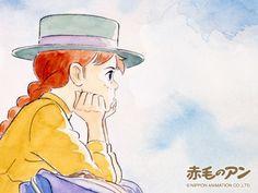 """赤毛のアン ・ """"Anne of Green Gables"""" ・ 1979 ・ Aired on Fuji TV's """"World Masterpiece Theater"""" from January 1979 to December 1979 by Nippon Animation ・ (Adapted from the same name novel by Lucy Maud Montgomery. Sketches, Anime Images, Manga Watercolor, Illustration, Drawings, Drawing Illustrations, Anne Of Green, Anime Drawings, Ghibli Art"""