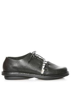 07912865210 TRIPPEN - Void Shoe In Glossy Cowhide Leather And Classic Rounded Rubber  Outsole