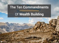 How To Build Wealth: The Ridiculously Simple Path To Financial Freedom Financial Success, Financial Literacy, Financial Planning, How To Become Wealthy, How To Become Rich, Success Principles, Business Advisor, Investment Portfolio, Ten Commandments