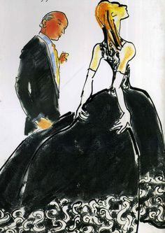 muse4mizenkay:    oscarprgirl:illustration by Gladys Perint Palmer.