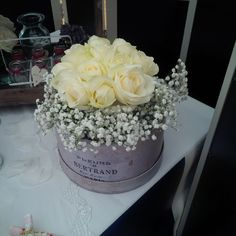 Simple flowers by Blue Thistle Weddings