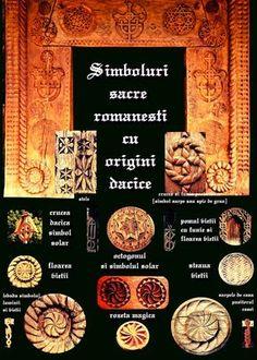 Simbolurile sacre romanesti cu origini dacice - CLIPE TRAITE ALTFEL !