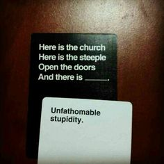 Cards Against Christianity