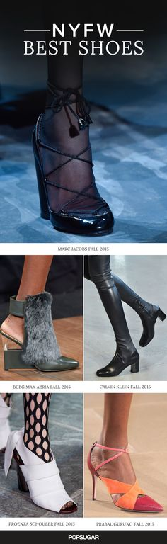 Fall shoe trends from New York Fashion Week