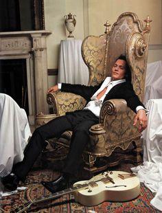 @Lisa Arce-Merrill Johnny Depp photographed by Mark Seliger, 2004