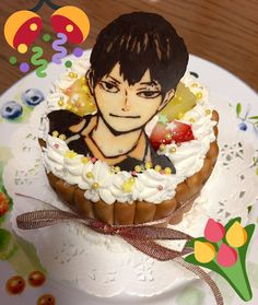 Pretty Cakes, Cute Cakes, Bolo Naruto, Anime Bento, Anime Cake, Bithday Cake, Frog Cakes, Cute Food Drawings, Anime Crafts