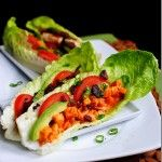 Buffalo Chicken Wraps: Low Carb, Big Taste! I would make mine without bacon ... these look great :)