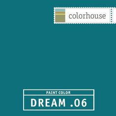 Colorhouse DREAM .06:  Peacock feathers. Dreamy & sultry. Vintage velvet. Use in a dining room, an accent behind shelves.