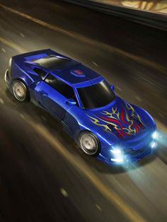 Autobot Tracks Artwork From Transformers Legends Game
