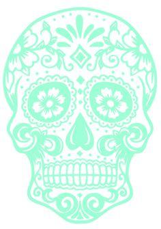 Sugar Skull Vinyl - CUTE... I want it.