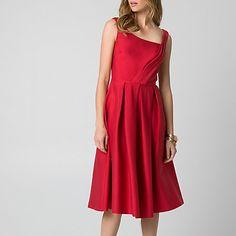 For the Preen 'Finella' Red Satin Midi Dress