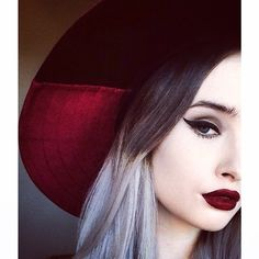 FAN FRIDAY @rachelgeorgina in #Quill eyeliner and #Wicked Velvetine. Tag #limecrime to be featured!
