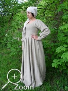 Viking Clothing, Renaissance Clothing, Medieval Fashion, 15th Century Dress, 15th Century Clothing, Medieval Costume, Medieval Dress, Historical Costume, Historical Clothing