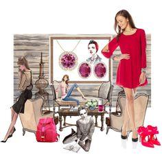 Flair Meets Fashion! by angarainc on Polyvore featuring As U Wish, Nicholas Kirkwood and Christian Dior