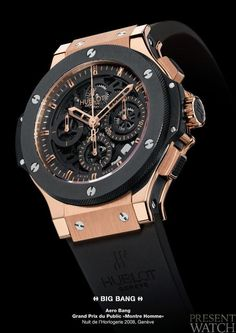 HUBLOT AERO BANG, Hublot Timepieces and Luxury Watches .