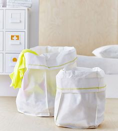 Soft but sturdy laundry bags. $2 for 2 bags. Perfect for the camper.