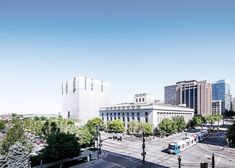 Thomas Phifer and Partners clads courthouse in vertical strips