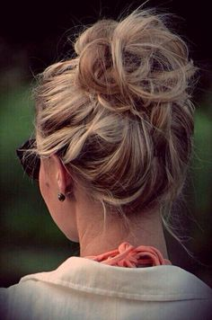 Messy buns are hard.