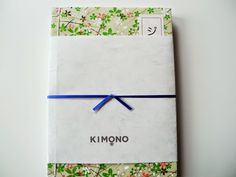 paper pastries: GIVEAWAY! Kimono Paper Notebooks
