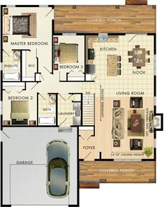 Mapleton house plan by Beaver