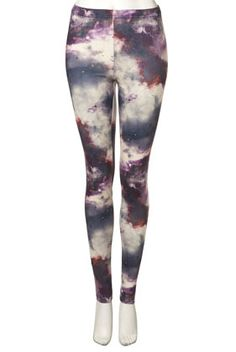 Space Print Legging