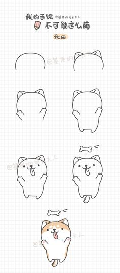 Learn to draw puppy