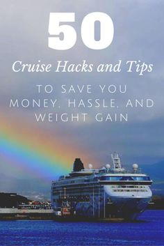 Use these top 50 cruise hacks & tips to save you money, hassle & even weight gain. Our tricks include free wifi, cheap shore excursions, & booking tips!