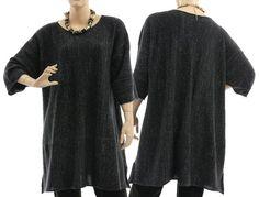Sweater with glitter thread oversized sweater von classydress