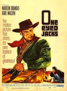 New Zealand International Film Festival 2016 - #NZIFF #NZ #Film Imagined - One eyed Jacks - 1961 - One of Ziegler's best westerns of all time - ... JamesAZiegler.com