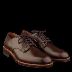 Alden Officer Shoe in Brown 96812  $545 - unionmadegoods.com