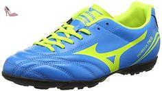 Mizuno Morelia Neo Cl As - Chaussures de Football - Homme - Bleu (Diva Blue/Safety Yellow) - 44 EU (9.5 UK) - Chaussures mizuno (*Partner-Link)