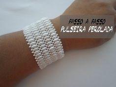▶ NM Bijoux - Pulseira Perolada - passo a passo - YouTube