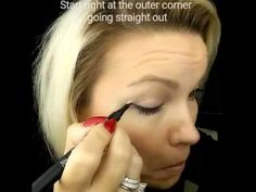 The Perfect Wing with Younique Liquid Eyeliner - YouTube