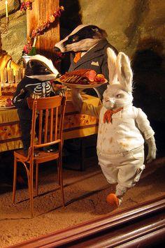 Bergdorf Goodman Fairy World & Fantastic Creatures Keka❤❤❤ Retail Windows, Store Windows, Store Window Displays, Booth Displays, Retail Displays, Christmas Window Display, Christmas Windows, Mr Fox, Le Shop