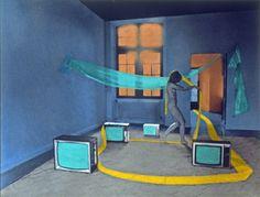 «Autoportrait série n°1, 15.10, 1979». Gloria Friedmann