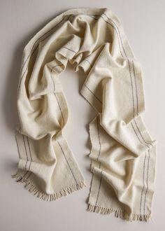 Margins Scarf (free weaving pattern) | Purl Soho