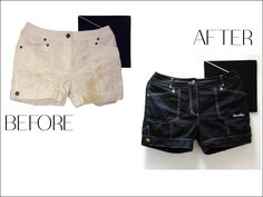 Happy long weekend! Get ready for warm weather with 'new' black shorts. #echochic #style